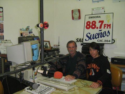 """UN PROGRAMA QUE SE ESCUCHA Y MUCHO """"CARRUSSELL DE LA ESPERANZA"""" 88.7 FM SUEÑOS DE LA CIUDAD DEL SAUCE."""