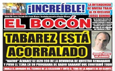 SEGUN PARECE EL TECNICO DE LA SELECCIÓN URUGUAYA OSCAR TABAREZ  PUEDE SER PROCESADO POR FALSO TESTIMONIO. -SERA CIERTO?