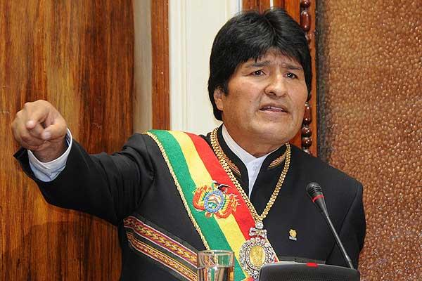 """SEÑOR PRESIDENTE DE BOLIVIA EVO MORALES USTED SE ENTERO DE ESTO QUE CRUZO EL MUNDO MOSTRANDO ALGO QUE NO LO DEJA BIEN PARADO YA QUE NO LO PODEMOS CREER """"PERO LO VIMOS POR TELEVISIÓN"""""""